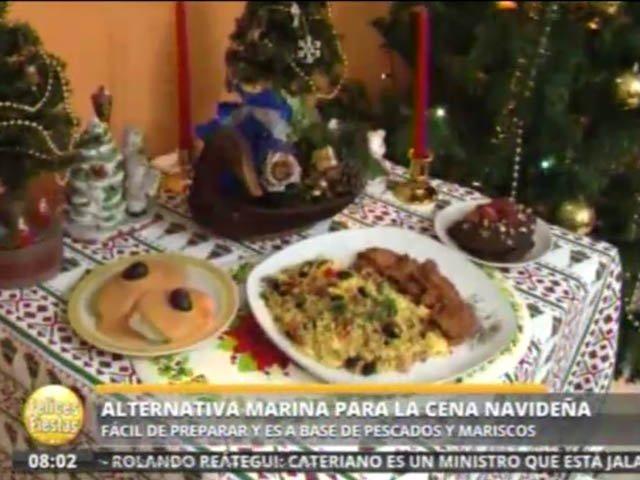 Alternativa Marina Para La Cena Navidena Facil De Preparar Con - Que-preparar-para-la-cena-de-navidad