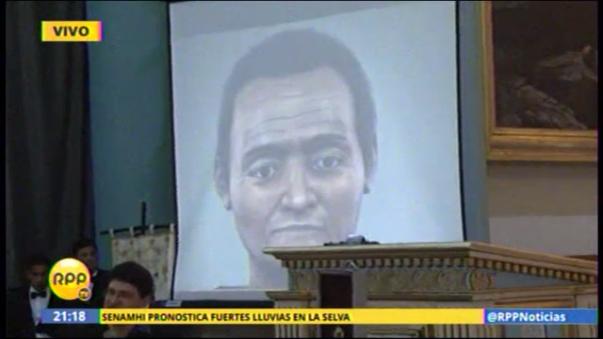 Presentación del rostro de San Martín de Porres