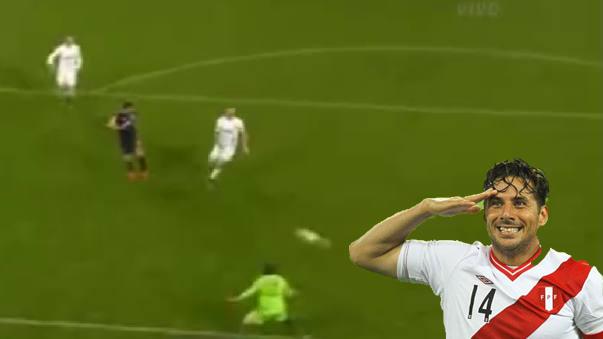 Clauido Pizarro marcó su primer gol en la actual Bundesliga