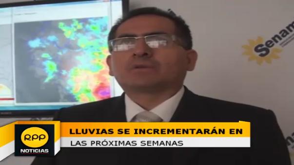 Julio Urbiola dio detalles sobre la situación climática en Cajamarca