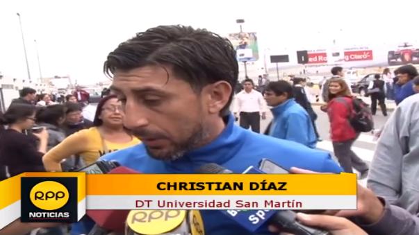 El DT ' santo' lamentó el accionar del cuadro local