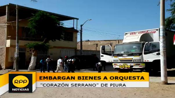 Embargan bienes de Corazón Serrano.