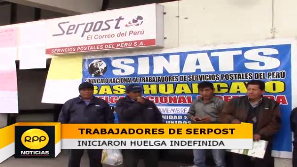 Decenas de usuarios no recibiran correspondencia a causa de la huelga, indicó Julio Albornoz.