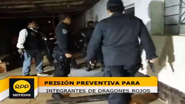 Prisión preventiva.