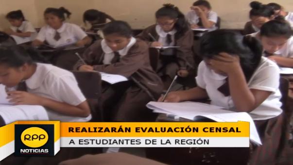 Autoridades educativas saludan aplicación de evaluación censal estudiantil.
