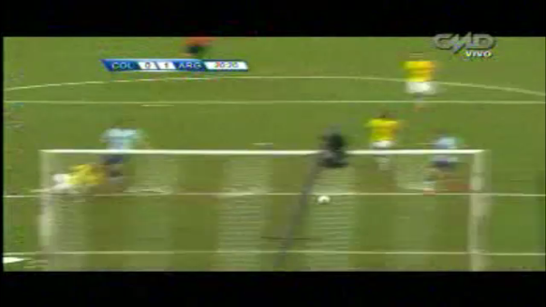 Colombia cae ante Argentina por Eliminatorias Rusia 2018.