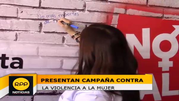 Presentan campaña contra violencia hacia la mujer