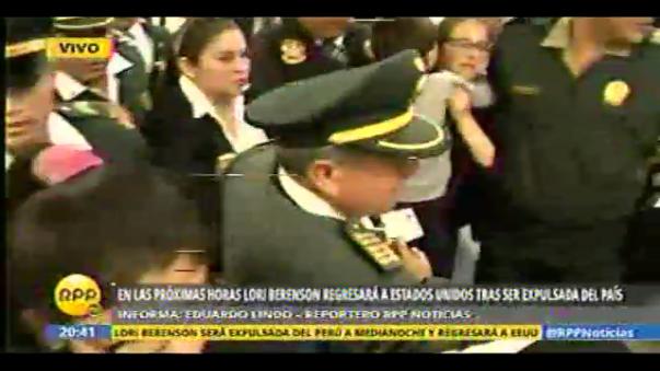 Lori Berenson será expulsada del Perú
