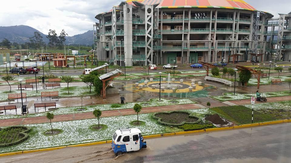 Granizada en Cajamarca