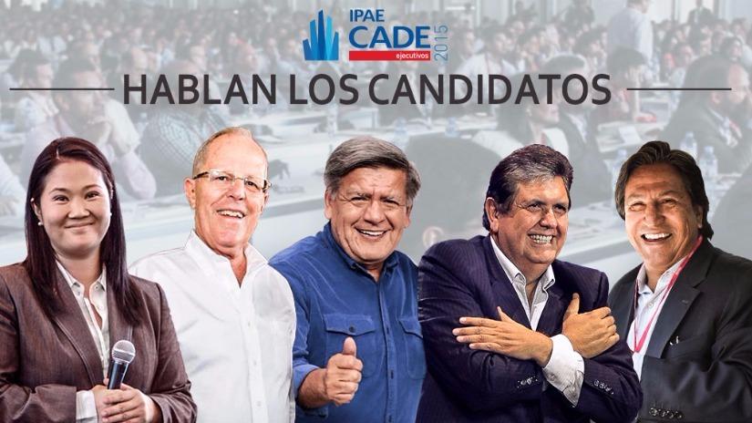 Los candidatos presidenciales participaron de CADE 2015
