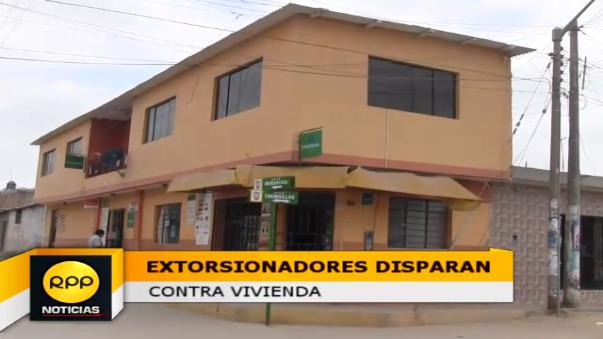 Extorsionadores disparan contra inmueble de funcionario municipal.
