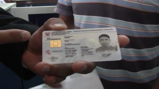Empezó entrega de DNI electrónicos en la región Lambayeque.