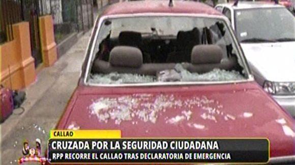 Vecinos del Callao viven atemorizados por el aumento del crimen.
