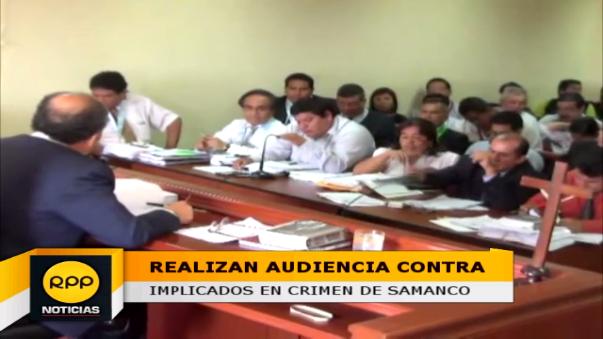Fiscal solicita 18 meses de prisión preventiva para alcaldesa y regidores de Samanco.