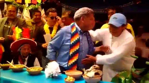 Líder del Alianza Para el Progreso prometió trabajar con los jóvenes y los sectores agrarios de la región Puno.
