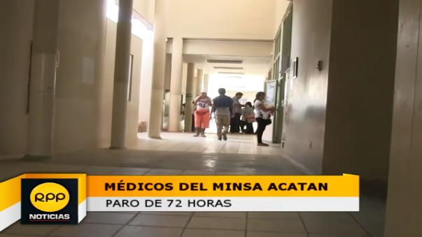 Ingreso principal de hospital fue cerrado al público