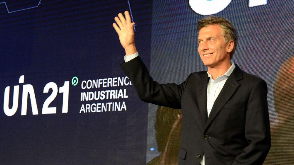 Mauricio Macri anunció la eliminación de los impuestos a las exportaciones de bienes industriales.