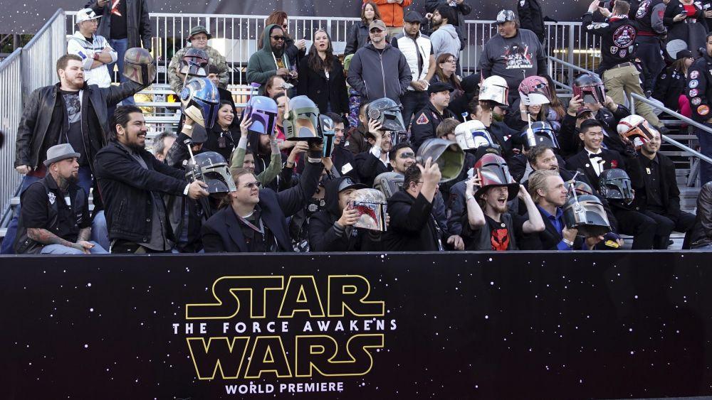 Star Wars desplegó toda su Fuerza en Hollywood.