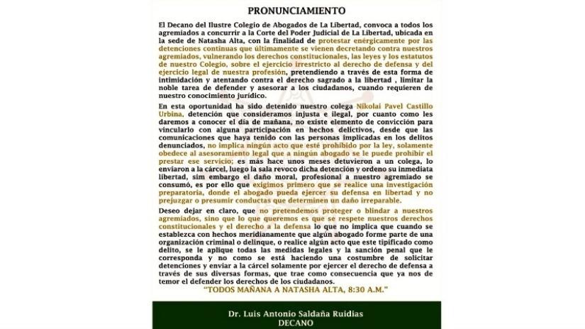 colegio abogado libertad: