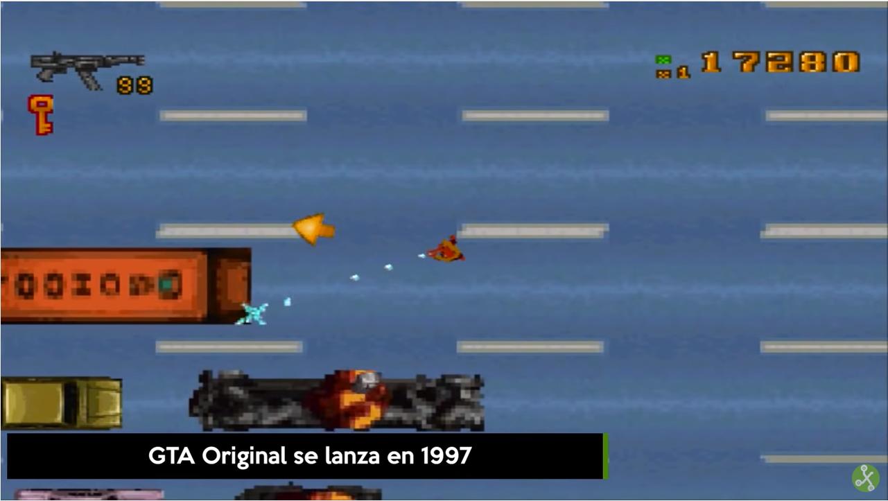 GTA se lanzó en 1997.