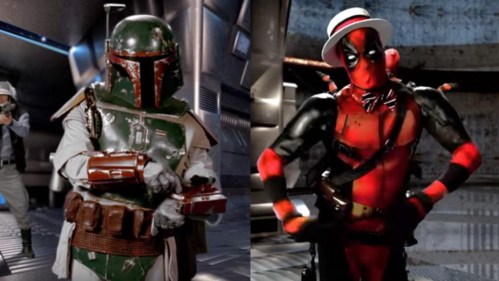 Youtube: Boba Fett y Deadpool se enfrentan en batalla de rap