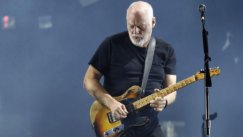 David Gilmour ofreció un show de casi tres horas de duración.