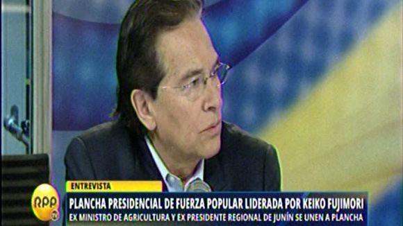 Vladimiro Huaroc también le respondió a Villarán.