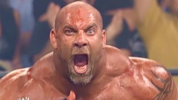 Bill Goldberg en la mejor pelea de su carrera.
