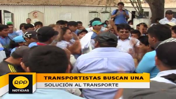 Los transportistas amenazan con paro de 48 horas