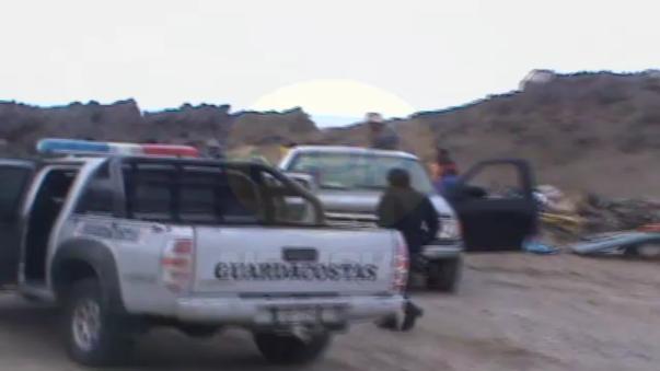La intervención se realizó en la playa El Negro.