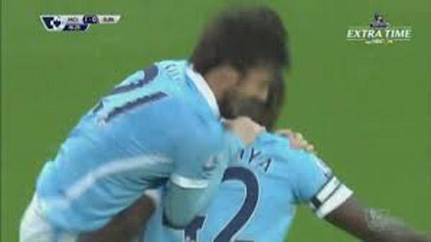 Yaya Toure anotó un golazo.