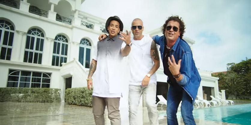 En el puesto 9 se encuentra el primer sencillo del tercer álbum de estudio del cantante puertorriqueño Wisin y es interpretada junto a Carlos Vives y Daddy Yankee.