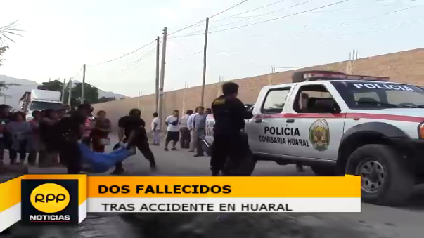 Dos fallecidos tras accidente.