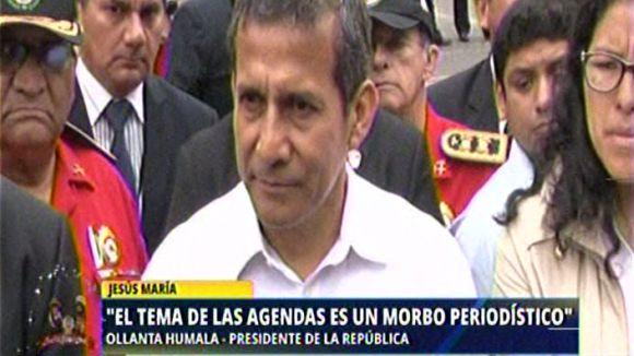 """Humala pidió evitar el """"morbo periodístico"""" en este caso."""