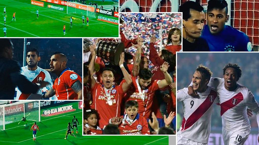 La Copa América 2015, Chile, el país sureño soñaba con levantarla por primera vez en su historia.
