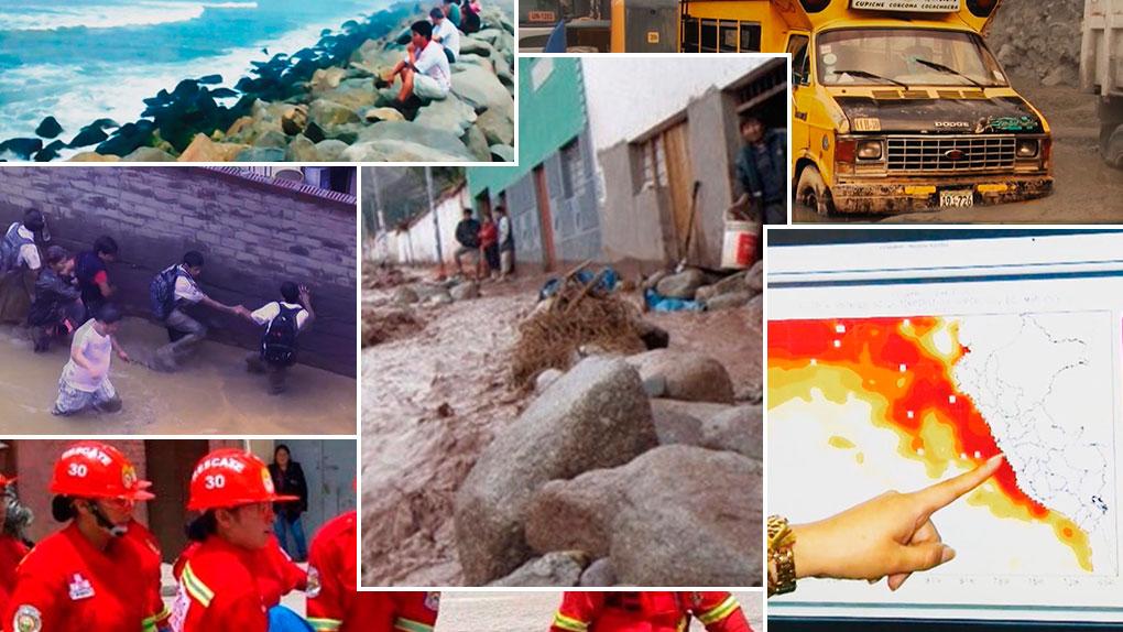 El fenómeno El Niño movilizó a todos los sectores a fin de mitigar sus efectos.