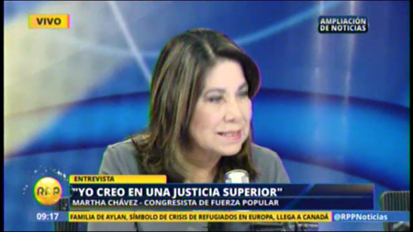 Martha Chávez.