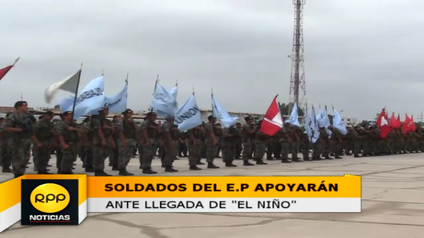 Soldados llegarán a Lambayeque