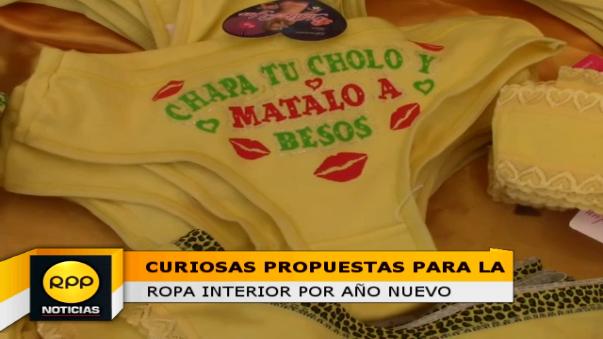 Desde dos soles se puede adquirir ropa interior para todos los gustos en la Feria de El Tambo.