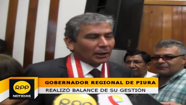 Gobernador regional de Piura