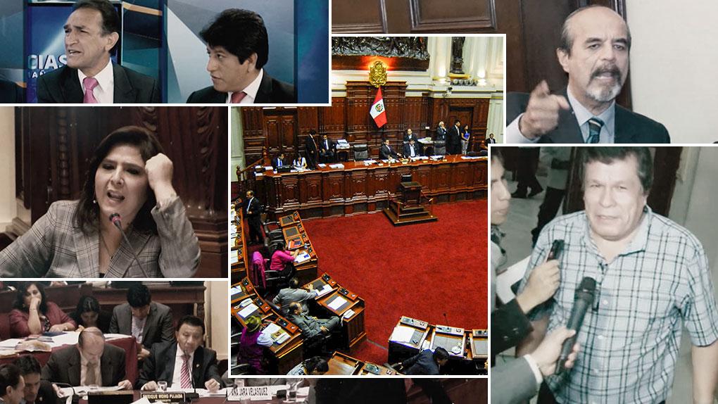 Diversos enfrentamientos se dieron en el Congreso de la República este 2015.