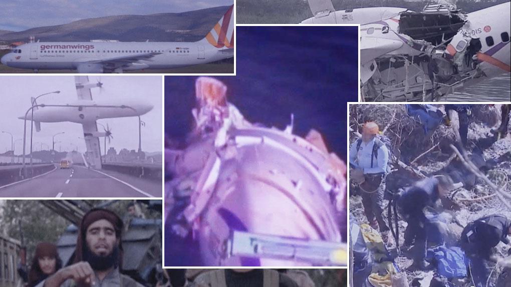 Tres terribles desastres aéreos conmocionaron al mundo.