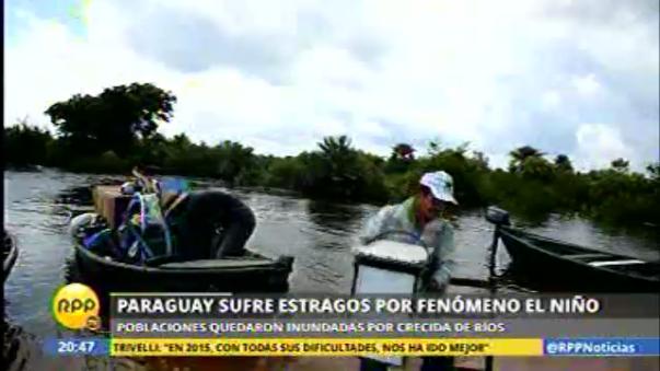 Inundaciones en Paraguay