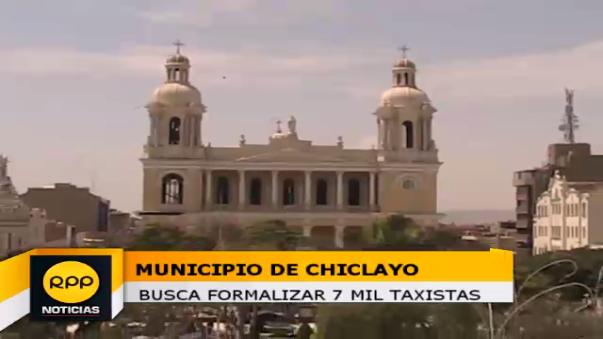 Municipio de Chiclayo busca formalizar a 7 mil taxistas.