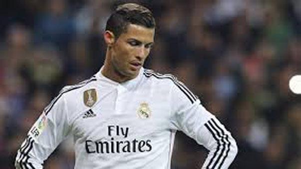Cristiano Ronaldo discute con Sergio Ramos.