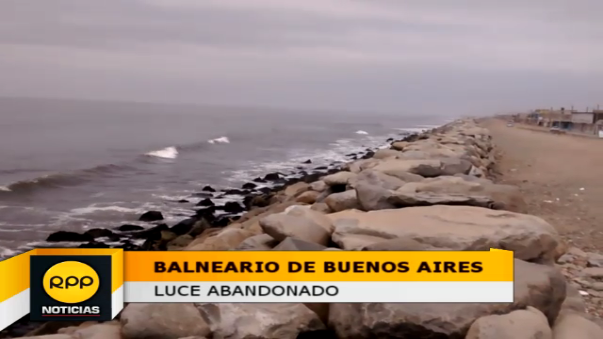 Así luce el otrora balneario de Buenos Aires, en el distrito trujillano de Víctor Larco.