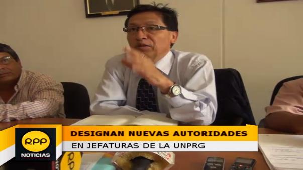 Nuevas Jefaturas en la Universidad Nacional Pedro Ruiz Gallo.