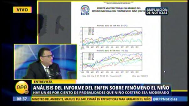 Fenómeno El Niño afectará varias ciudades del Perú.