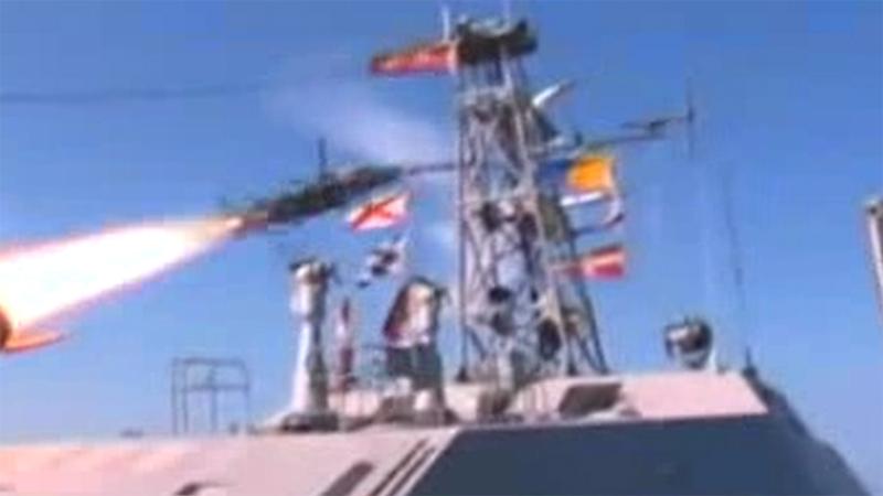 Captura del video difundido por la televisión norcoreana