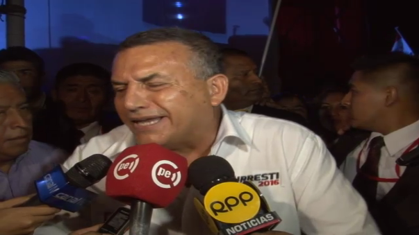 El candidato presidencial del Partido Nacionalista, Daniel Urresti, encabezó mitin en Ate, donde expuso parte de su plan de gobierno